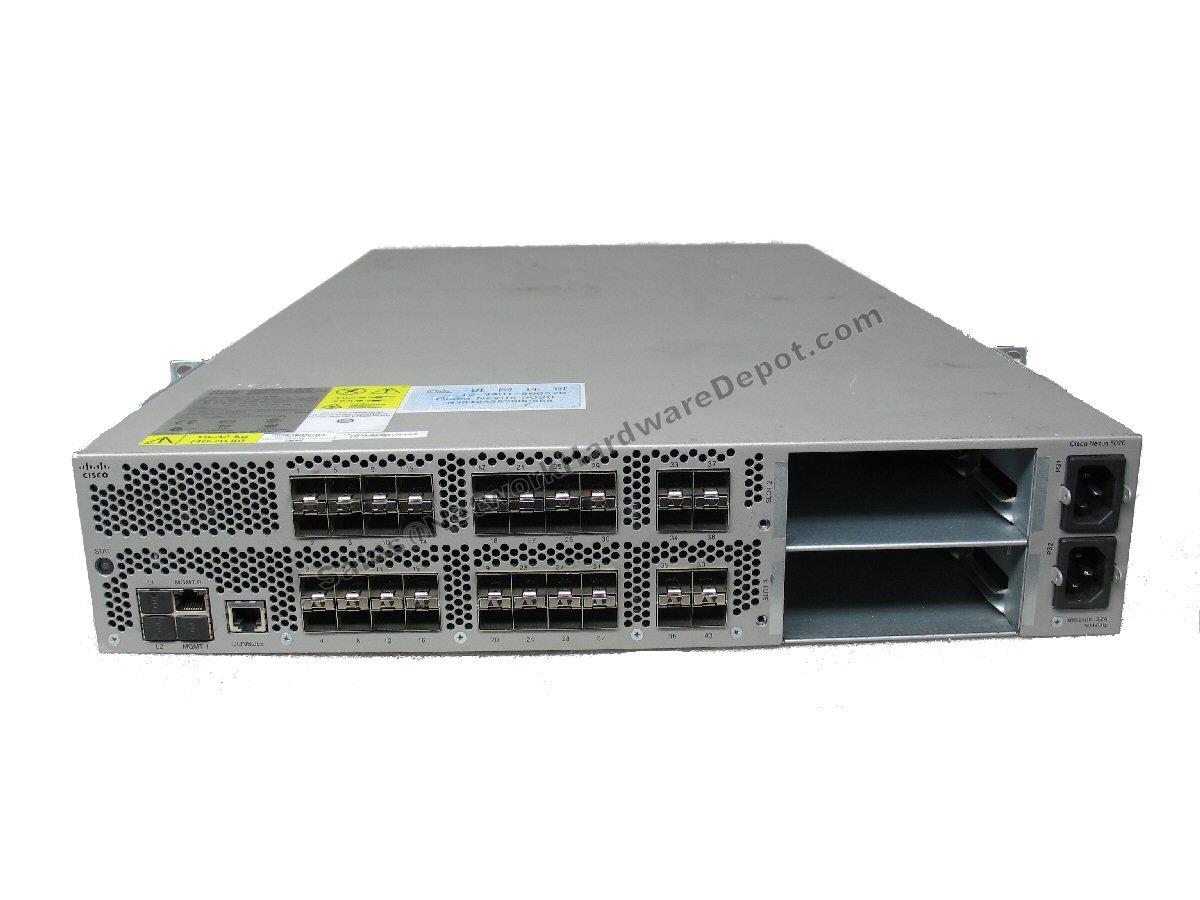 Cisco N5K-C5020P-BF 40-Port 1Gb Switch with 2x N5K-M1600 1x N5K-PAC-1200W TAE